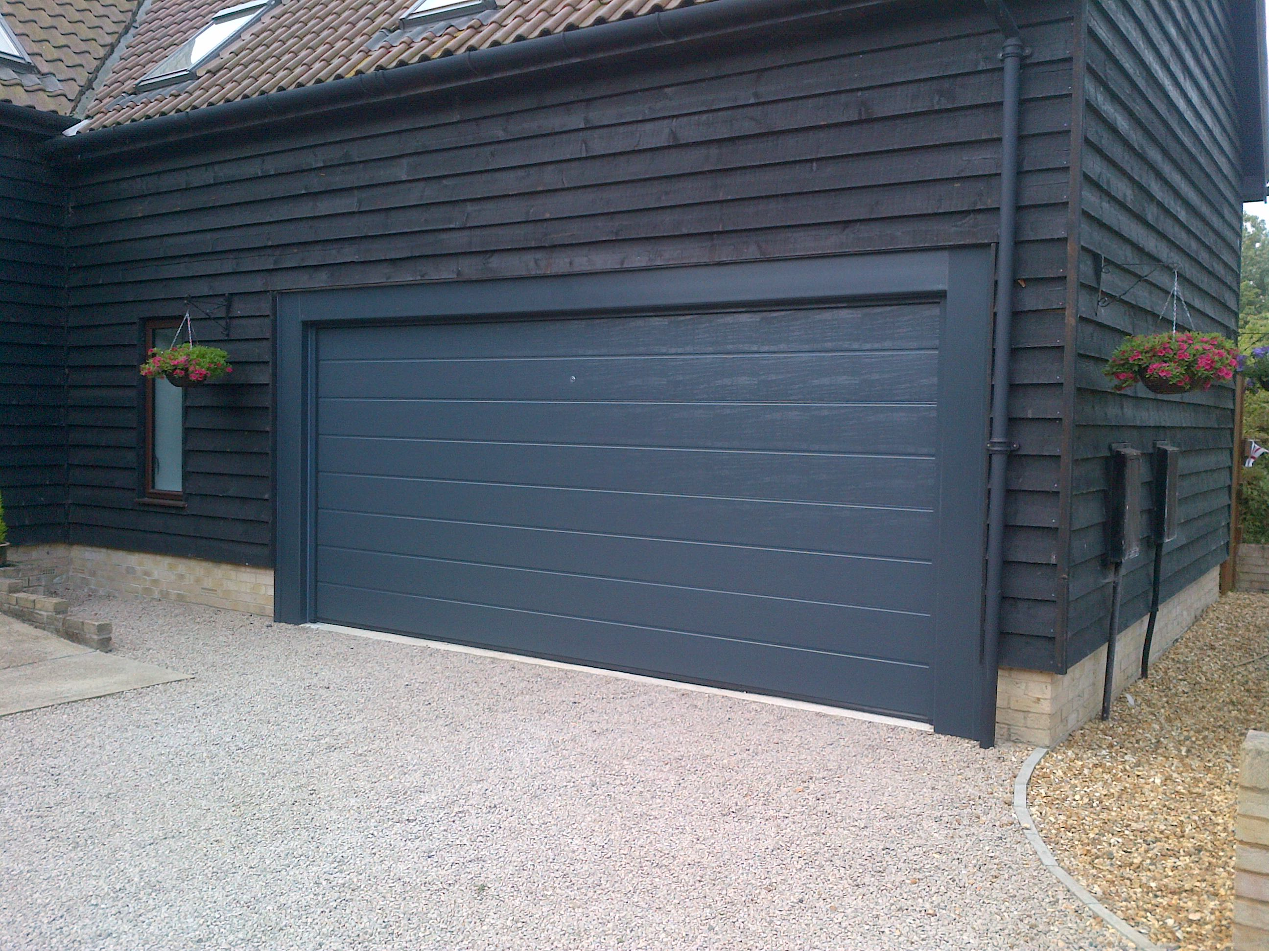 Sectional Overhead Door Doors : Hormann sectional door fitted in huntingdon yesterday