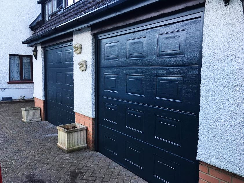 Automated Hormann Sectional garage doors