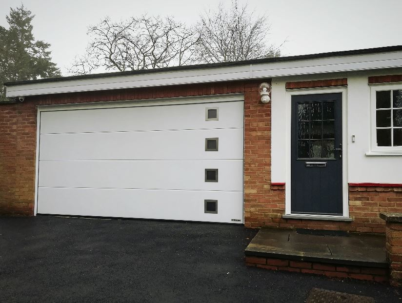 Automated Hormann Sectional Garage Door St Ives Cambridge