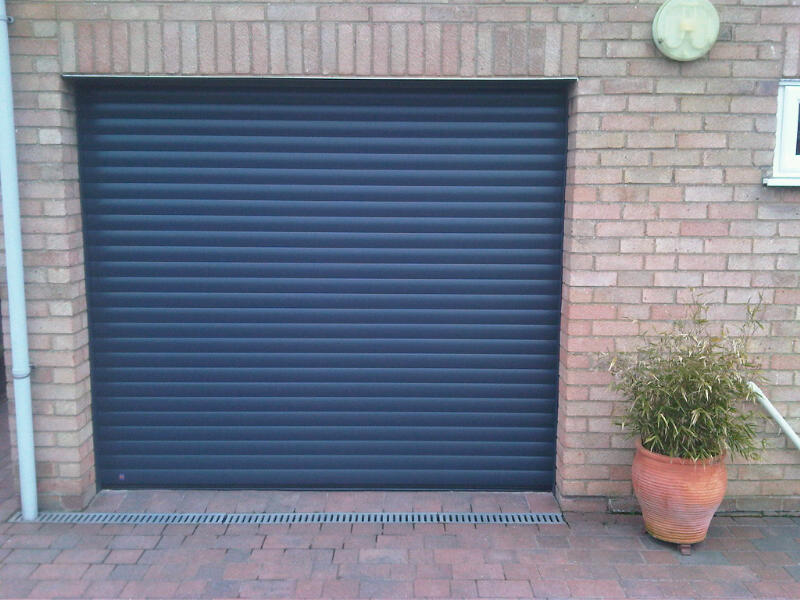 Hormann Rollmatic Roller Door Fitted In Cambridge This