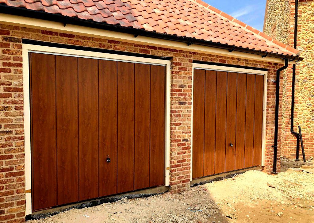Hormann Golden Oak Garage Doors Huntingdon