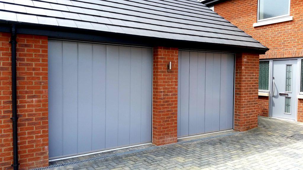 Hormann Side Sliding Garage Doors Horringer Suffolk Fenland