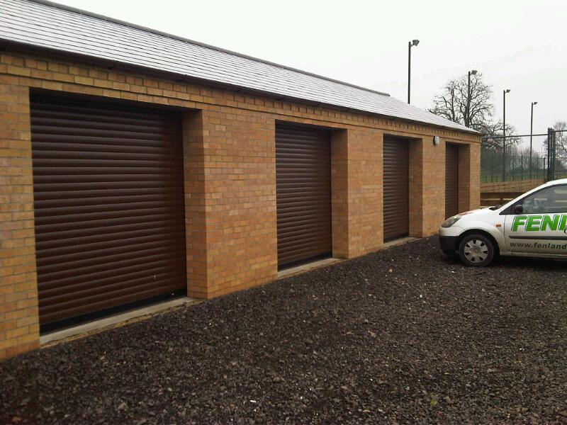 Roller Garage Doors in Cambridge