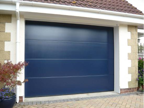 sectional garage door in norwich