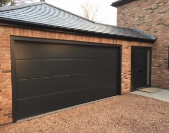 Modern Hormann garage door in Cottenham