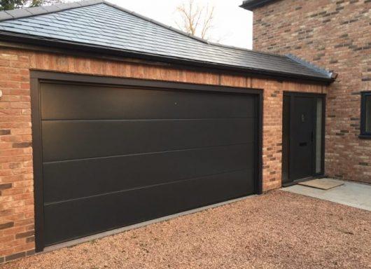 Modern Hormann garage door in Cottenham